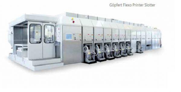 Goepfert Flexo Printer Slotter